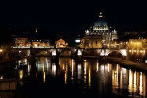 rome at night bridge over tevere river rickentito s gallery gallery lumix g experience