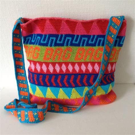 crochet tapestry bag pattern 225 best crochet tapestry crochet images on pinterest