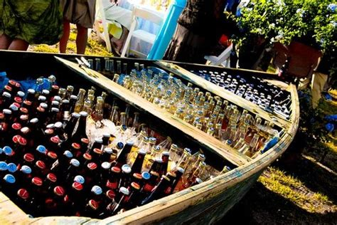 boat drinks beer 10 unique awesome wedding bar ideas that kick a