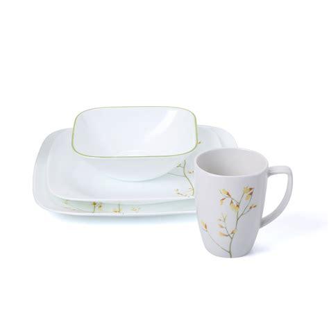 Kitchen Dinnerware Outlet Corelle 16 Dinnerware Set Reviews Wayfair