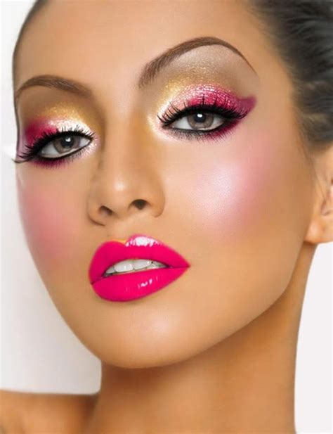 fabulous christmas makeup ideas