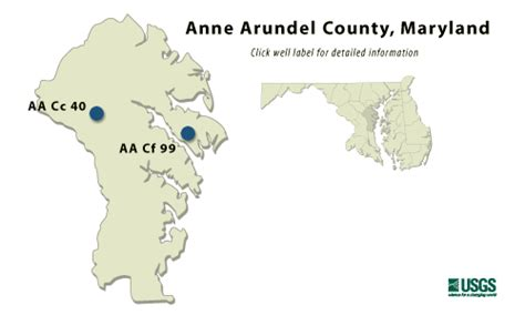 maryland aquifer map arundel md confined aquifer water table