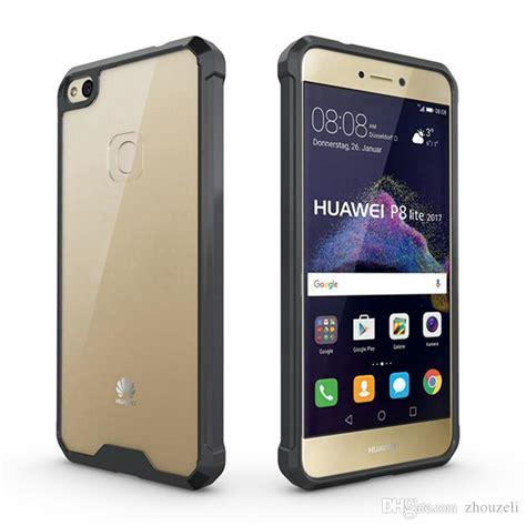 Huawei P7 Lite 2017 Coque by For Huawei P8 Lite 2017 Honor 8 Lite 2017 P9 Lite 2017 Hybrid Armor Tpu Frame Clear Back