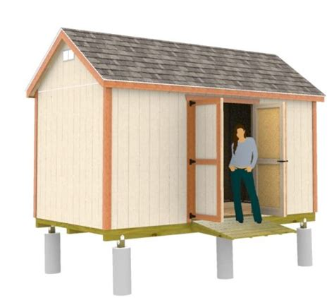 easy  build  gable shed