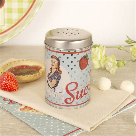 vintage shaker vintage style sugar shaker by dibor notonthehighstreet com