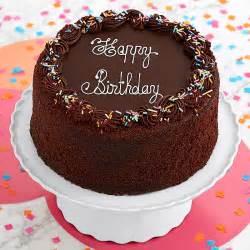 Get Well Soon Basket Ideas Three Layer Chocolate Happy Birthday Cake