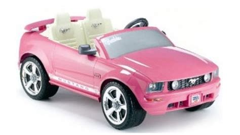 pink kid car power wheels ford mustang grandparents com