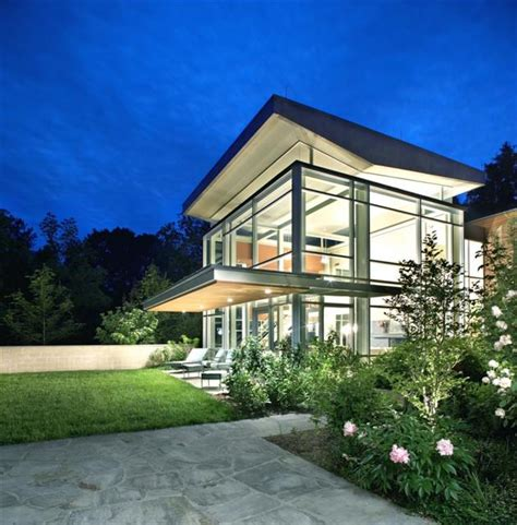 glass gk residence in chapel hill carolina