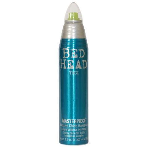 bed head masterpiece hairspray tigi bed head masterpiece massive shine hairspray 9 5 oz bath and body for women