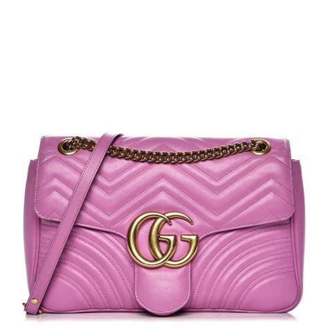 Lollipops Pink Patch Medium Bag by Gucci Calfskin Matelasse Medium Gg Marmont Shoulder Bag