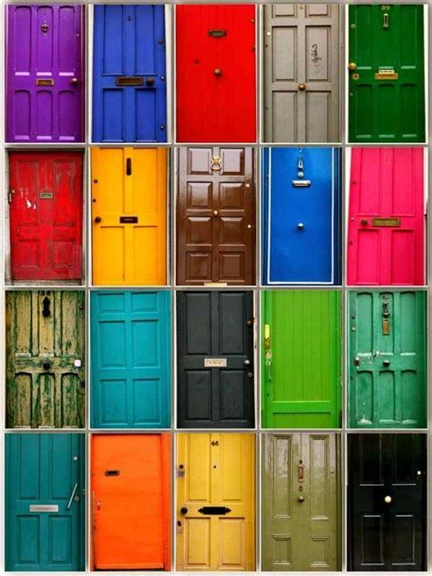 Colorful Doors | colourful doors of dublin oh the places i will go