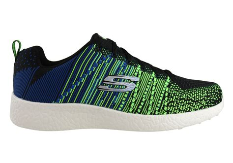 skechers sport shoes mens skechers mens burst in the mix comfortable memory foam