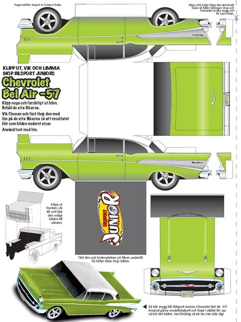 Papercraft Models - paper car templates printable related keywords