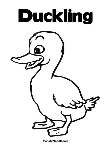 duck outline coloring page outline of a duck coloring home