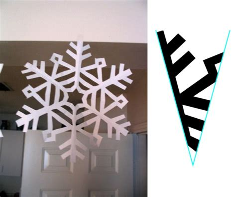 How To Make Paper Snowflake Patterns - how to make paper snowflakes cutting pmthreads