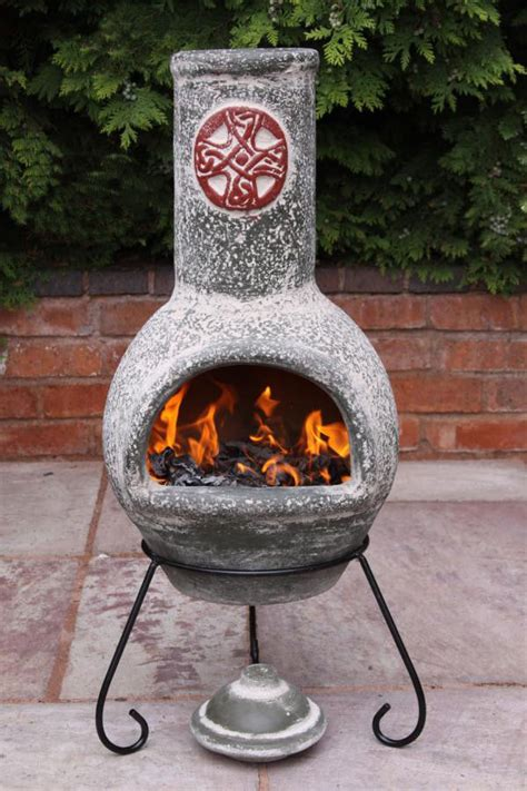 chiminea mexican improbable large chiminea pit garden landscape