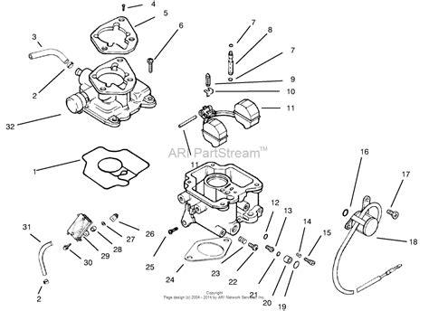 kohler carburetor diagram toro professional 30612 groundsmaster 120 2001 sn