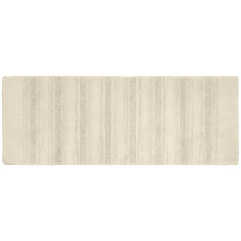 accent rugs for bathroom garland rug essence ivory 22 in x 60 in washable