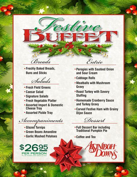 christmas eve buffet ideas 10 lovable menu ideas buffet