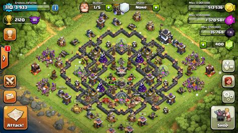 kumpulan wallpaper game coc kumpulan base farming terbaik th 9 clash of clans 2015