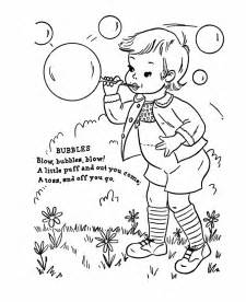 what rhymes with color printable nursery rhymes coloring pages coloring me