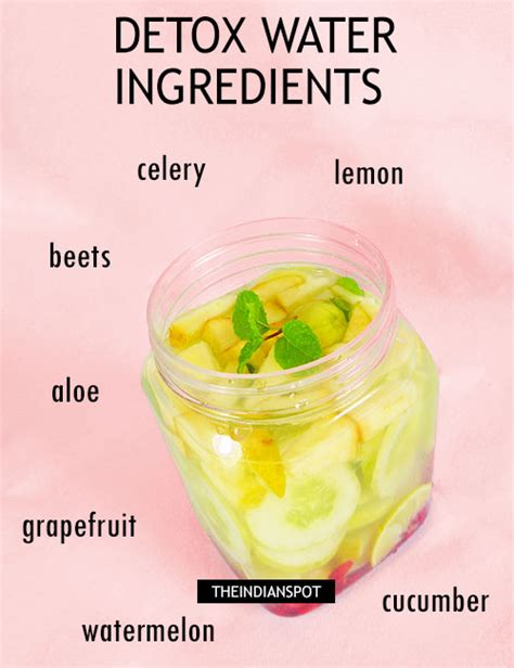 Ingredients Needed For Detox Water by Ingredients To Add To Your Detox Water