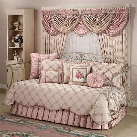 day bed comforter sets floral trellis daybed bedding