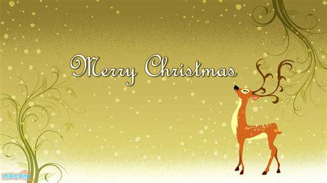 wallpaper christmas reindeer merry christmas reindeer desktop wallpapers for kids