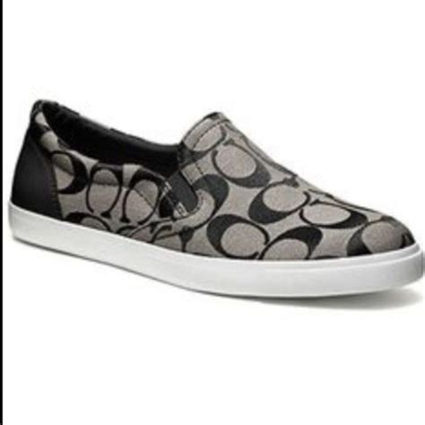 coach slip on sneaker 33 coach shoes new without tags coach slip ons from