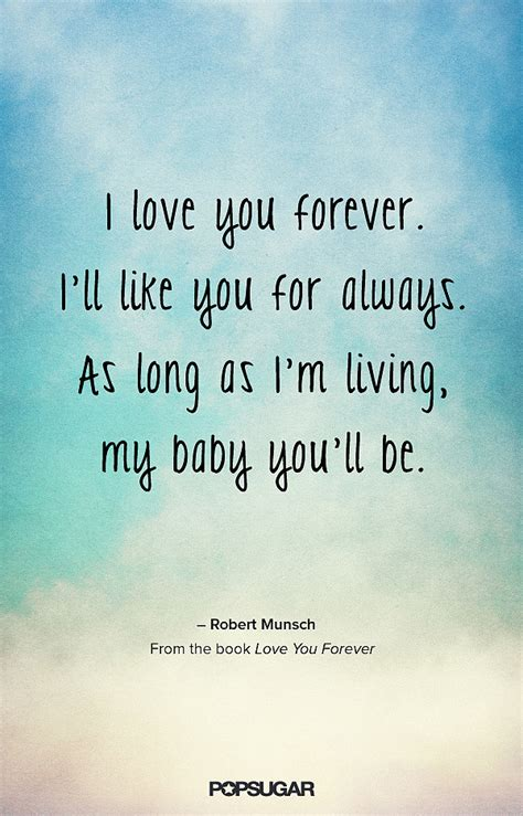 a baby for forever books i you forever quotes quotesgram