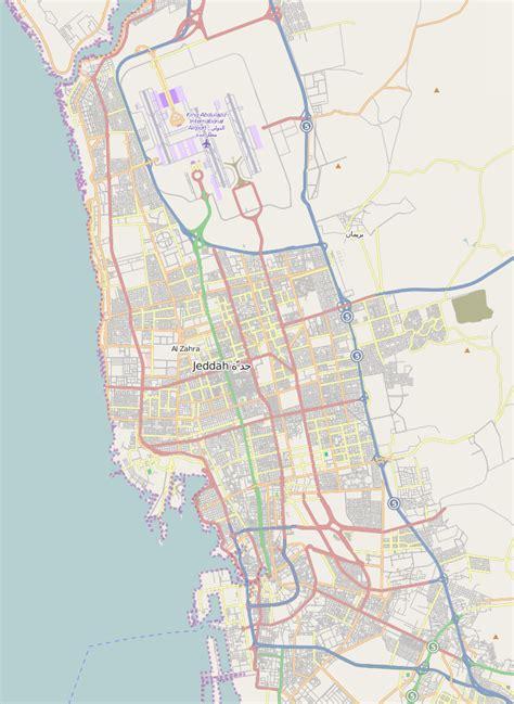 jidda map file jeddah map png wikimedia commons