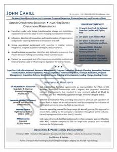 executive resume sles elizabeth bradford the