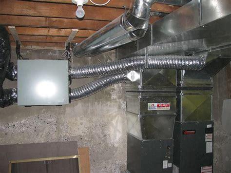 home air ventilation air exchanger installation 2018 hrv