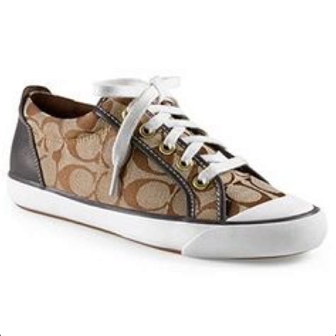 48 coach shoes brown coach tennis shoes from