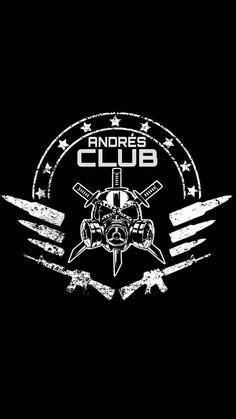 The club logo | Wrestle fest | Aj styles wwe, Wrestling