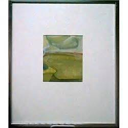 """bruce samuelson """"landscape #1"""", signed on label"""
