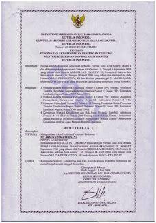 membuat cv ke notaris natural life dokumen pendirian perusahaan