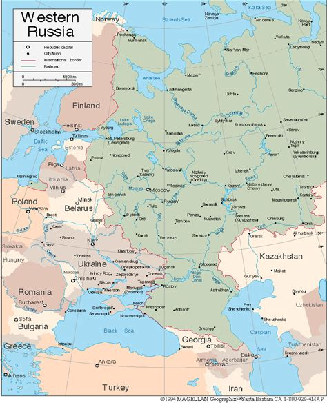 europe and western russia map quiz gorky map