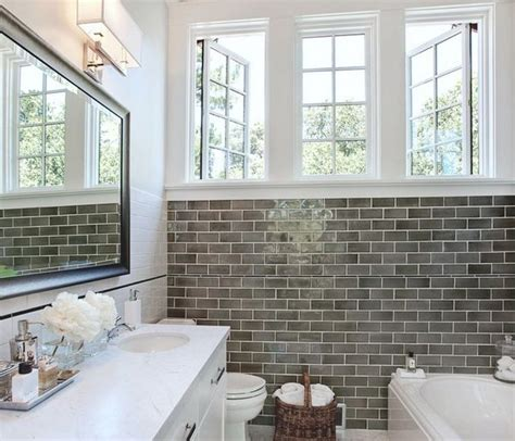 bathroom white tile ideas 29 gray and white bathroom tile ideas and pictures