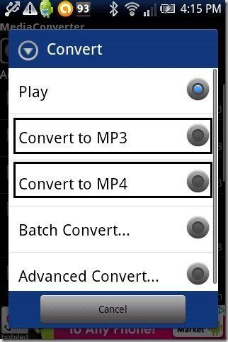 convert to mp3 android how to convert to mp3 mp4 on android