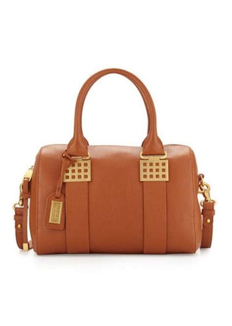 Badgley Mischka Dome Satchel by Badgley Mischka Badgley Mischka Ally Leather Satchel Bag