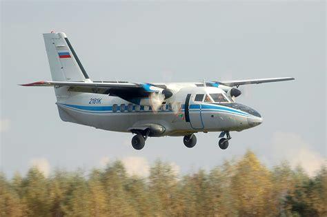 Airplane L let l 410 turbolet
