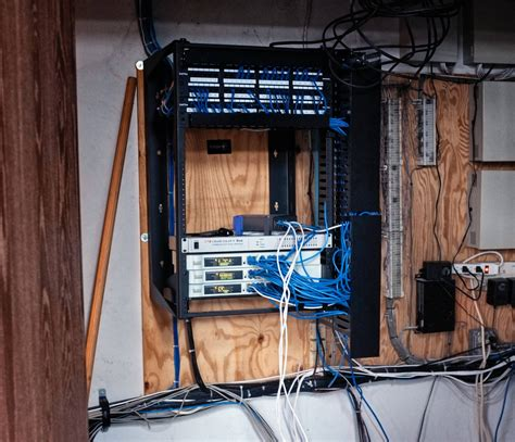 Home Network Closet Design Networking Proper Method For Connecting Non