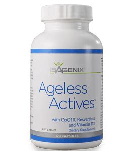 isagenix ageless actives preventing premature aging