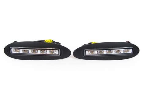 Drl Mercy S Class W220 usa 2000 02 mercedes w220 s class led daytime running drl bumper fog light trim ebay