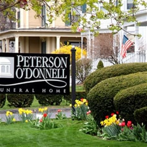 peterson o donnell funeral home funeral services