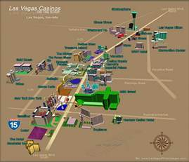 Map Las Vegas Nv by Las Vegas Nv Tourist Map Las Vegas Mappery