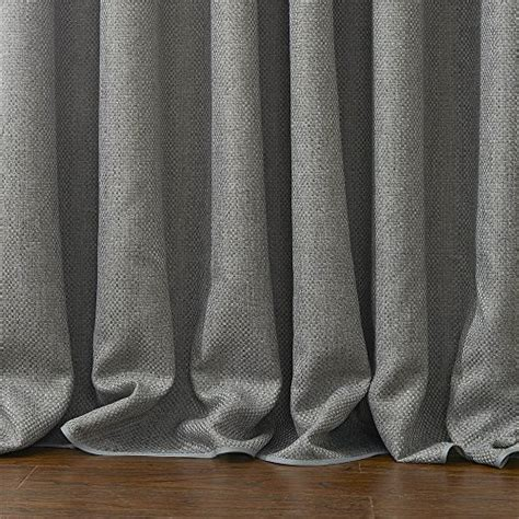 paradise one grommet panel with light blocking liner iyuego solid faux linen room darkening grommet top