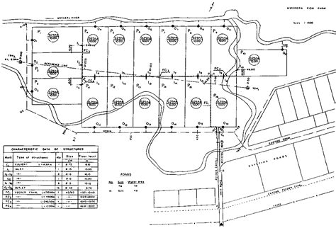 drainage section drawing drainage layout drawings