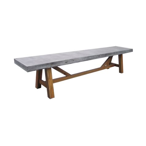 concrete table and benches price mimosa 1 8m x 40cm nebraska cement bench bunnings warehouse